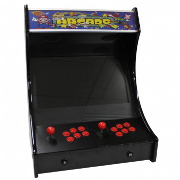 2-Player Bartop Arcade maskine, komplet