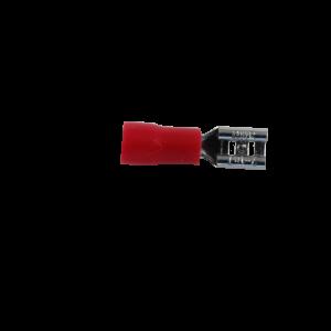 4.8mm Kabelsko Rød (Hun)