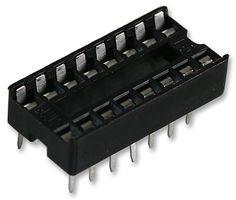 IC sokkel 16pin 7.62mm