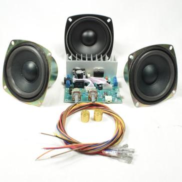HiFi forstærker sæt med højtalere