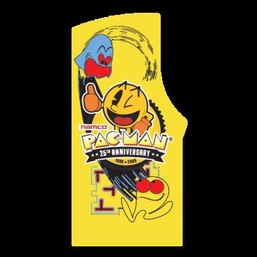 Pac Man 25th Anniversary side art, venstre