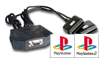 X-Arcade PS1/PS2 Adapter
