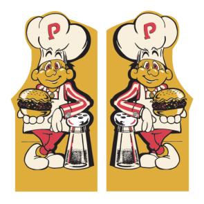 Burgertime Side art