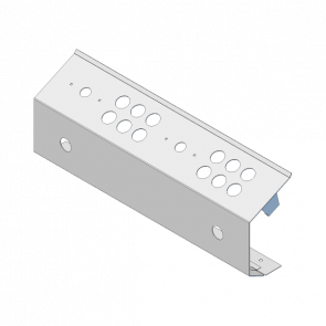 Compugame Kontrolpanel 2 Player m/6 knapper, bred