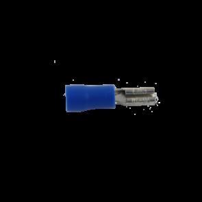 2.8mm Kabelsko Blå (Hun)