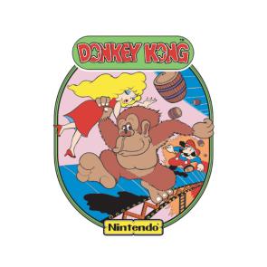 Donkey Kong side art