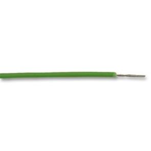 Ledning AWG22, 30.5m, Grøn