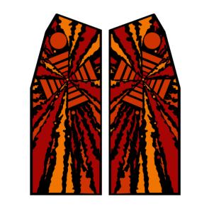 Gyruss Side art