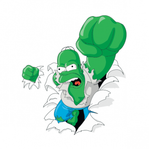 Homer Hulk Side Art, Højre
