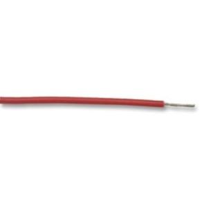 Ledning AWG22, 30.5m, Rød