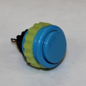 Sanwa 24mm knap, blå