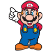 Mario side art, højre